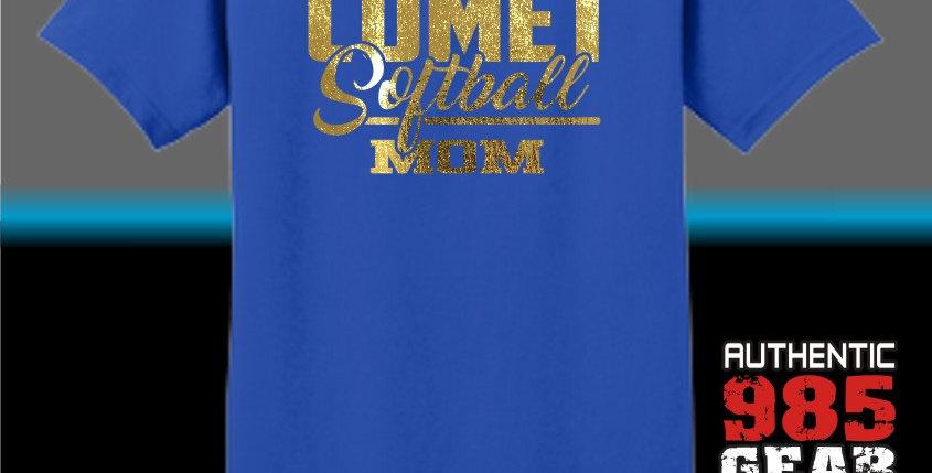 Comet Softball Mom T-Shirt