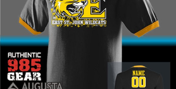 """ESJ """"It's All About The E"""" Ringer T-Shirt"""