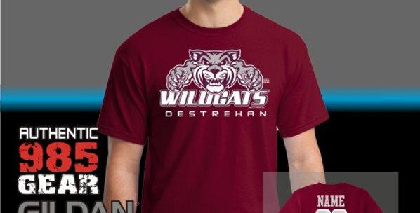 """Destrehan """"Big Cat Attack"""" T-Shirt"""
