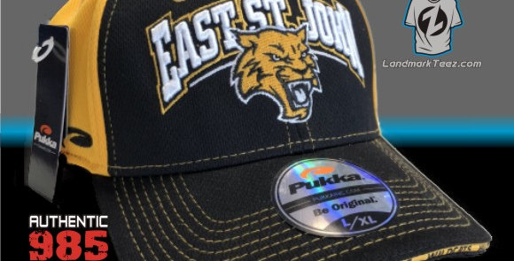 ESJ Black/Gold Flex-Fit Cap