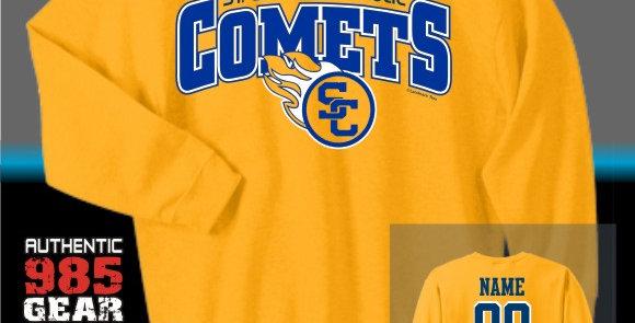 SCC Gold Crewneck Sweatshirt
