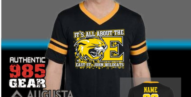 """ESJ """"It's All About The E"""" Stripe Jersey"""