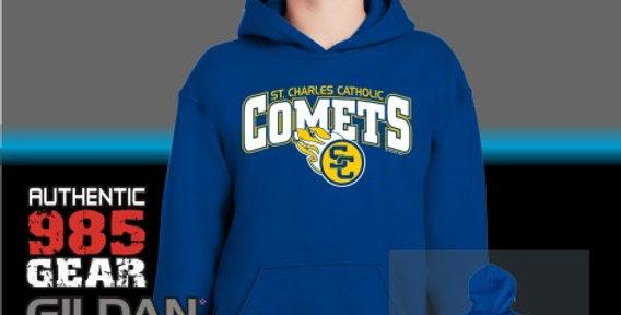 SCC Comets Royal Cotton Hoodie
