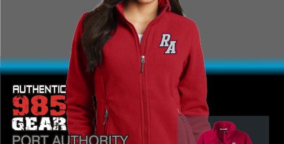 Riverside Ladies Red Fleece Jacket