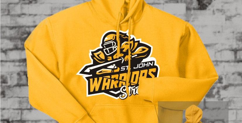 Warriors Strong Gold Hooded Sweatshirt