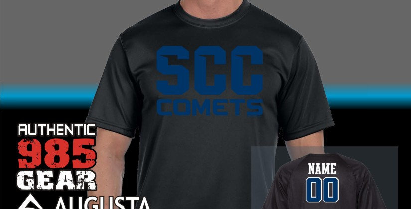 SCC Black Out Dry-Fit T-shirt