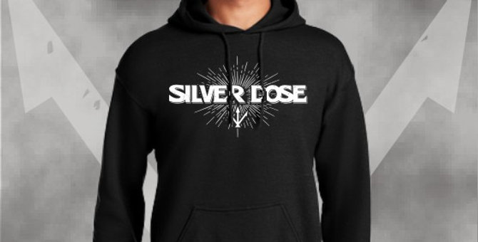 Silver Dose Cotton Hoodie