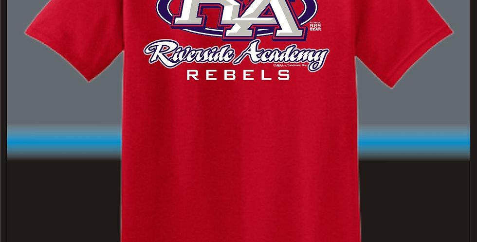 Red Riverside RA Stong T-Shirt Front
