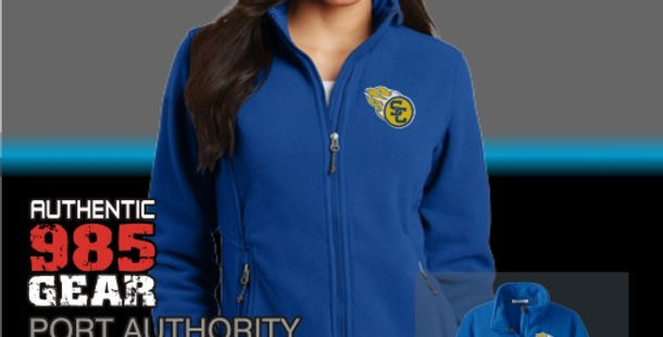 SCC Ladies Royal Fleece Jackets