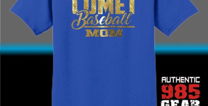 Comet Baseball Mom T-Shirt