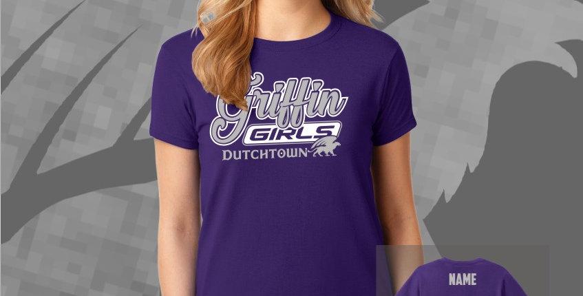 Griffin Girls Ladies Cotton Tee