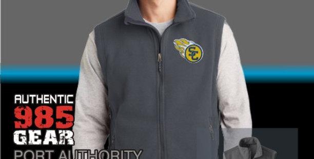 SCC Mens Iron Grey Fleece Vest