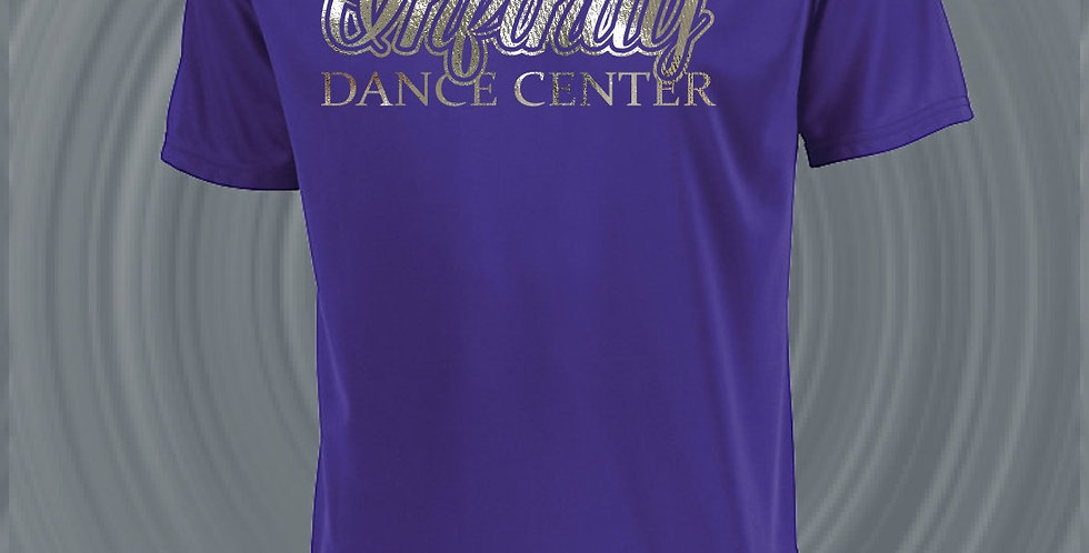 Infinity Dance Foil Dry Fit T-Shirt