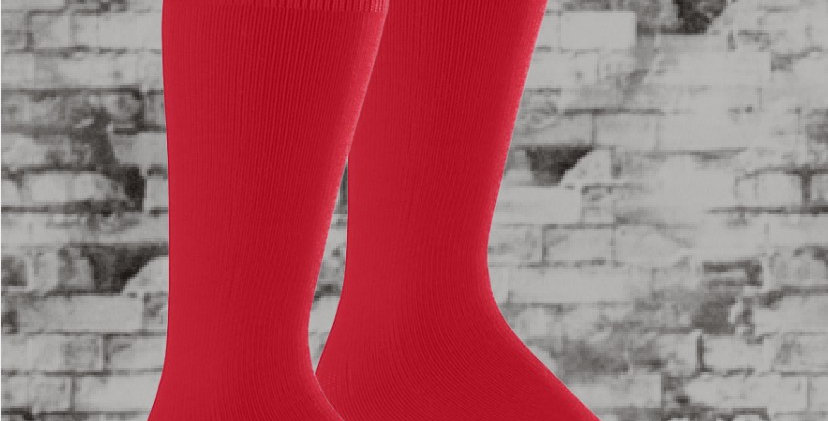 Warrior Red Augusta Wicking Socks