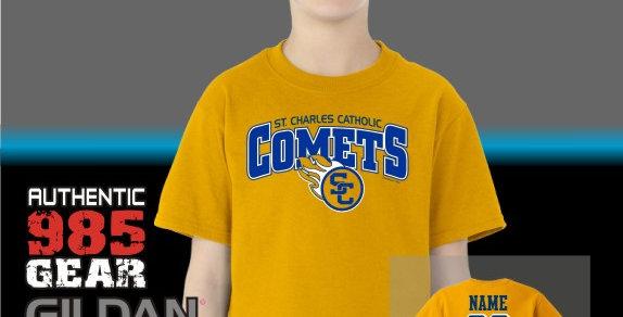 SCC Comets Gold T-Shirt