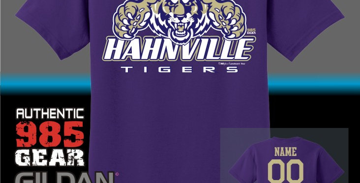 Hahnville Purple T-Shirt