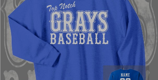 Gray's Baseball Royal Crewneck Sweat