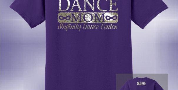Infinity Dance Mom Foil Unisex T-Shirt