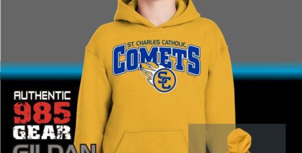 SCC Comets Gold Cotton Hoodie