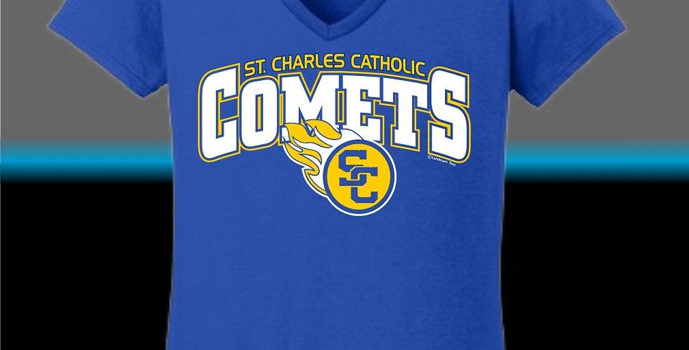 SCC Ladies V-Neck T-Shirt