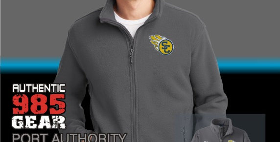 SCC Mens Iron Grey Fleece Jackets