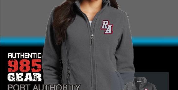 Riverside Ladies Iron Grey Fleece Jacket