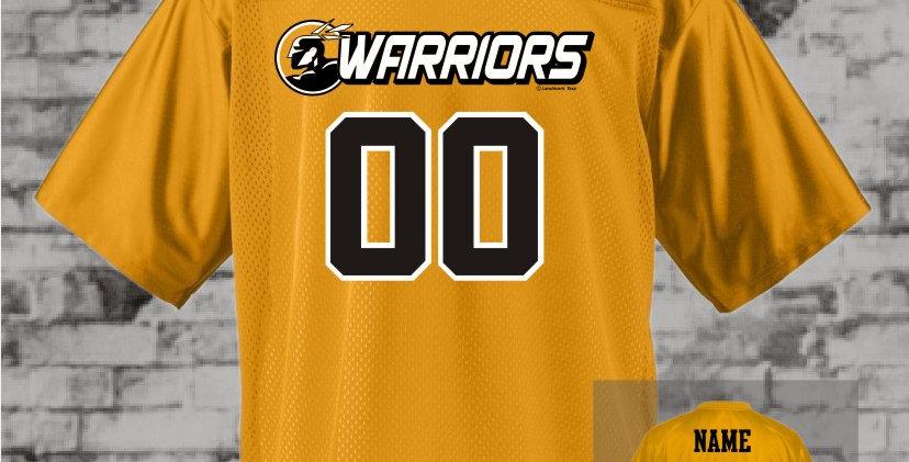Warriors Gold Mens Replica Jersey