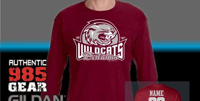 """Destrehan """"Wyld Cats"""" Longsleeve T-Shirt"""