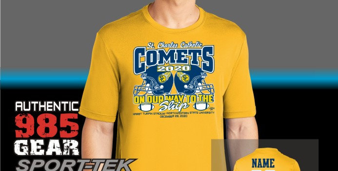 "SCC ""Championship Run"" Dry-Fit T-Shirt"