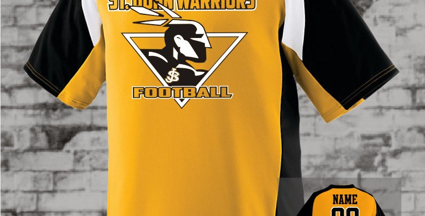 Warriors Gold Nitro Dry-Fit Jersey
