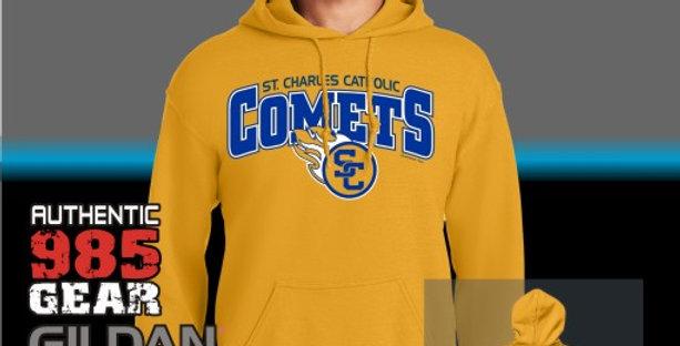 SCC Gold Cotton Hoodie
