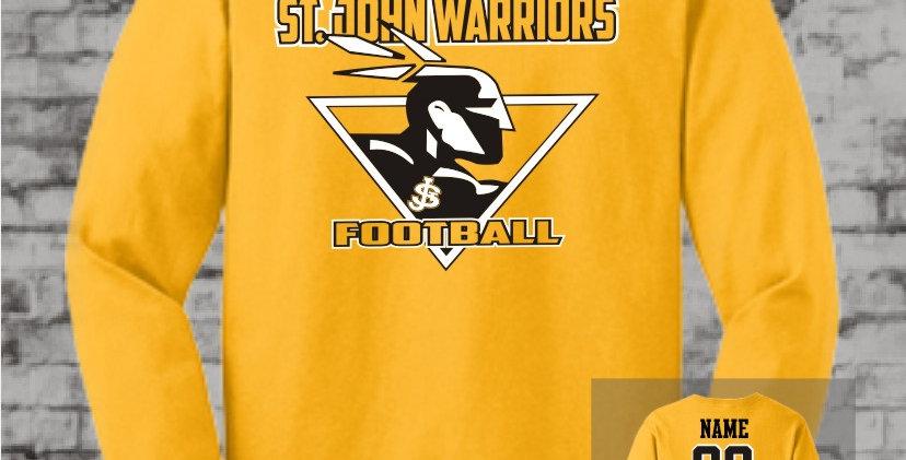 Warriors Gold Long Sleeve T-Shirt