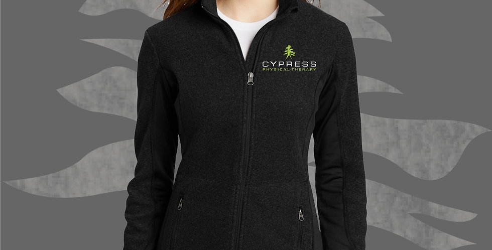 Cypress Physical Therapy Ladies Pro Fleece Jacket