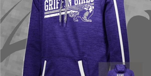 Griffin Girl Stoked Tonal Dry-Fit Hoody