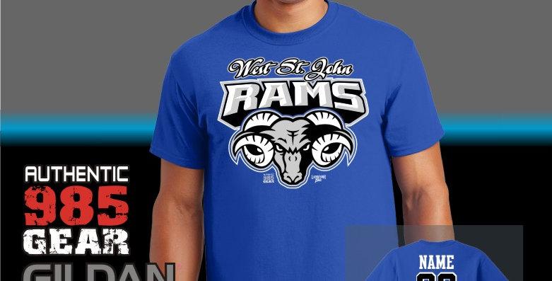 "WSJ ""Ram Tough"" T-Shirt"