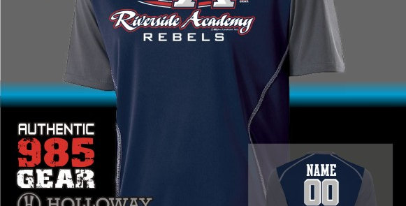 Riverside Navy Piston Jersey
