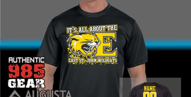 """ESJ """"It's All About The E"""" Dry-Fit T-Shirt"""
