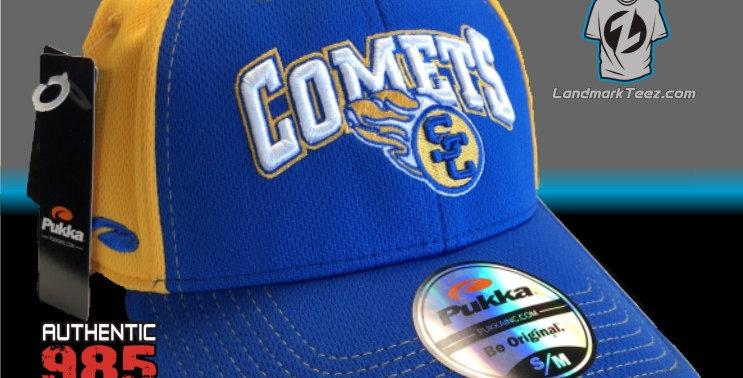 SCC Royal & Gold Flex-Fit Cap