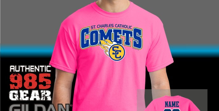 SCC Pink T-Shirts