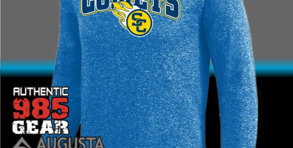 SCC Kinergy Royal Dry-Fit Long Sleeve Tee