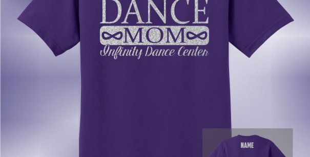 Infinity Dance Mom Glitter Unisex T-Shirt