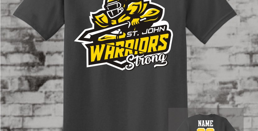 Warrior Strong Graphite T-Shirt