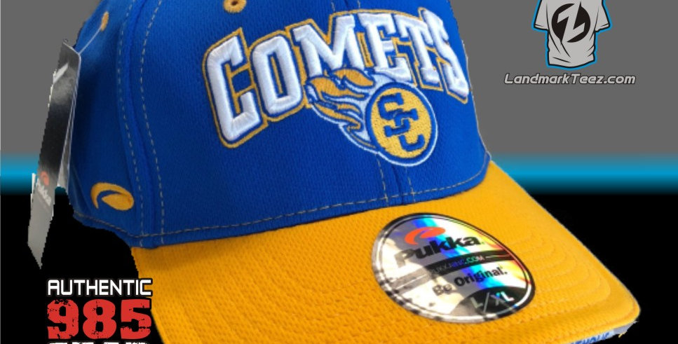 SCC Royal/Gold Flex-Fit Cap