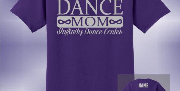 Infinity Dance Mom Vinyl Unisex T-Shirt