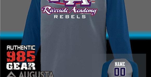 "Riverside ""RA Strong"" Dry-Fit Nova Graphite/Navy Jersey"
