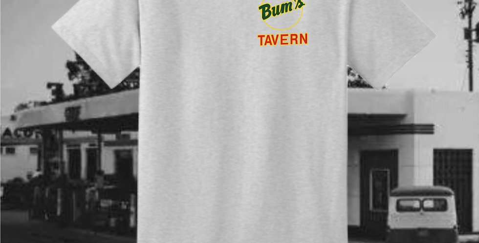 Bum's Tavern Ash T-Shirt