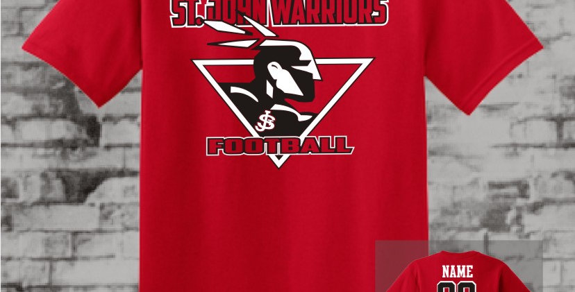 Warriors Red T-Shirt
