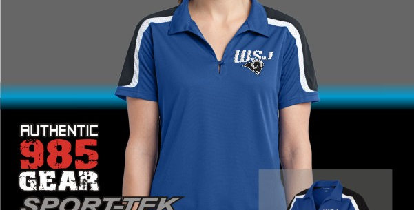 WSJ Ladies Tri-Color Shoulder Sport-Wik Polo