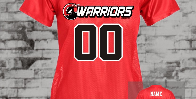 Warriors Ladies Replica Jersey
