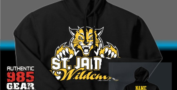 "St. James ""Cat Claws"" Black Hoodie"